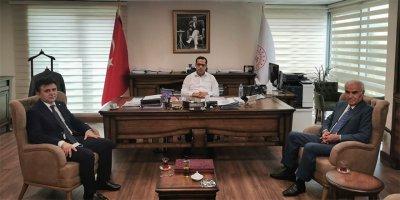 AASKF'den Ahmet Dilsiz'e ziyaret