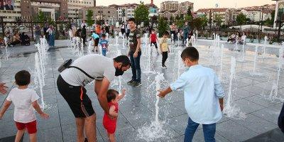 Çocukların yeni eğlencesi: Islanma havuzu