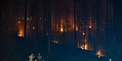 Beypazarı'nda korkutan yangın
