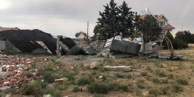 Polatlı'da hasar günyüzüne çıktı