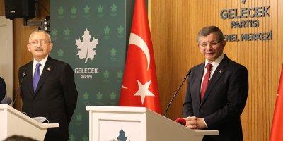 Kılıçdaroğlu'ndan, Davutoğlu'na ziyaret