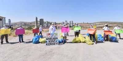 Koru Mahallesi'nde çevre temizliği etkinliği