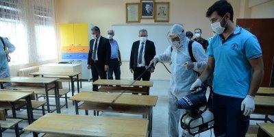 Pursaklar'da okullar şimdi daha güvenli