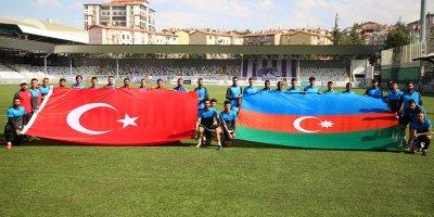 Keçiörengücü'nden Azerbaycan'a destek