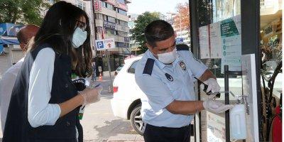 Çankaya'da pandemi denetimleri sürüyor