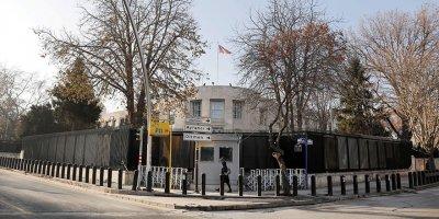 ABD AnkaraBüyükelçiliği güvenlik uyarısı yaptı, işlemleri askıya aldı