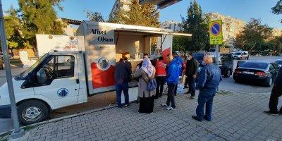 Ankara'dan İzmir'deki depremzedelere destek