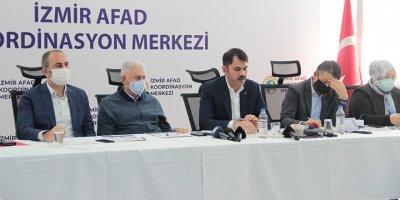 Bakanlardan İzmir'de açıklama