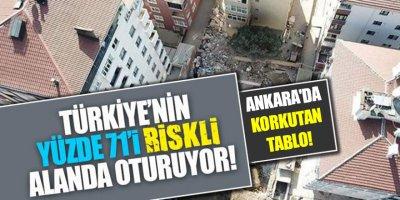 Ankara'daki çürük bina sayısı açıklandı