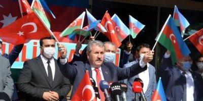 """Başkan Destici: """"Zaferin kutlu ve mübarek olsun can Azerbaycan"""""""