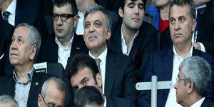 Abdullah Gül'den ilk maç yorumu