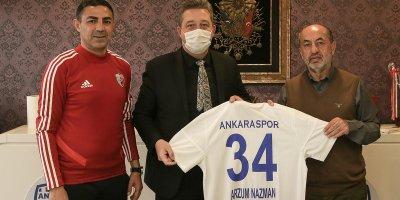 Ankara İl emniyetinden başkana nezaket ziyareti