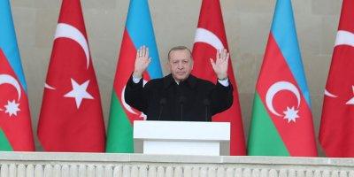 Erdoğan: 'Ermenistan, Karabağ'dan ders çıkarmalıdır'