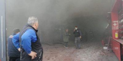 Başkent'te LPG dükkanında patlama: 2 yaralı