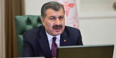 """Sağlık Bakanı Koca: """"Faz 2 için üretime 3 gün önce başlandı"""""""