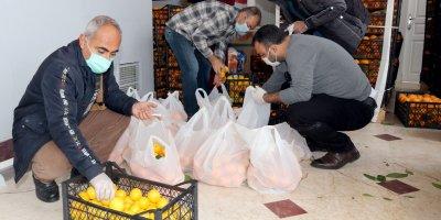 Çankaya Belediyesi'nden meyve yardımı