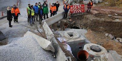 Sıhhiye'de yaşanan su taşkınlarına kalıcı çözüm