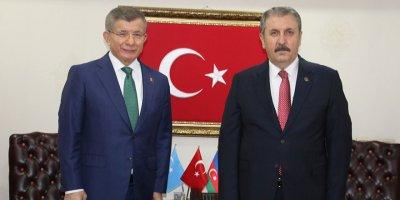 Destici ile Davutoğlu görüştü