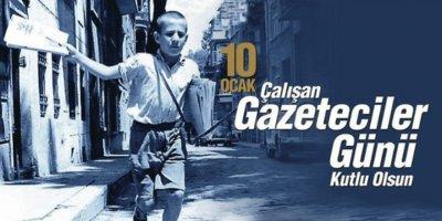 Kurucumuz Ali Çetin 10 Ocak Gazeteciler Günü'nü kutladı