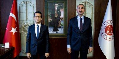 Bakan Gül'den Başsavcı Akça'ya ziyaret