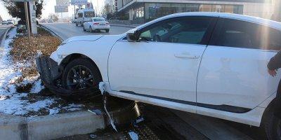 Çankaya'da trafik kazası