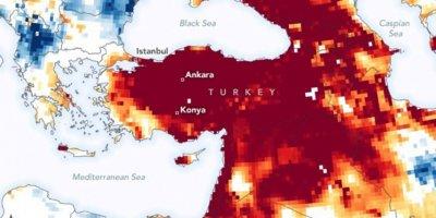 NASA'dan Türkiye'ye kritik kuraklık uyarısı