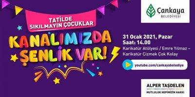 Çankaya Belediyesi'nin 'Tatilde Şenlik' etkinliği