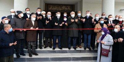 Şehit Umut Coşkun Camisi ibadete açıldı
