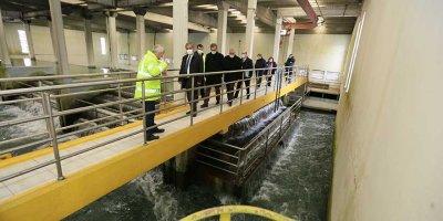 İvedik İçme Suyu Arıtma Tesisi hakla kapılarını açtı