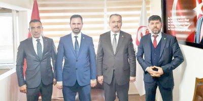 HÜDA PAR Ankara İl Başkanı Karaaslan'dan BBP'ye ziyaret