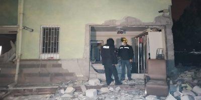 Bir sitede doğalgaz patlaması: 2 yaralı