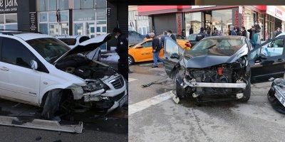 Başkentte feci kaza: 3 yaralı