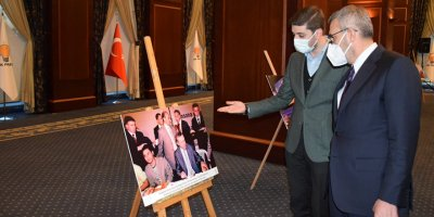 AK Parti Ankara Gençlik Kolları'ndan Cumhurbaşkanı Erdoğan'a Sürpriz