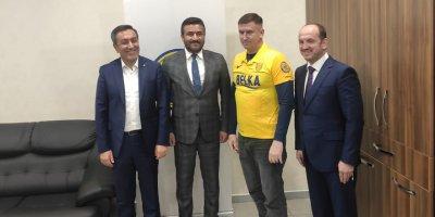 Myroniuk: Ukrayna'da artık MKE Ankaragücü taraftarı bir fazla