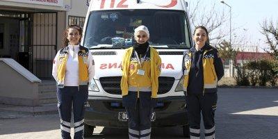 112 Ambulans servisinin kadın kahramanları