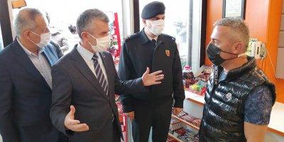 Ankara'da korona virüs denetimi