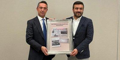 Başkan Ali Koç'tan Ankara'da sürpriz ziyaret
