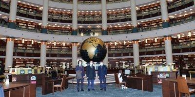 Karaarslan: Kütüphaneler bizi geleceğe taşır