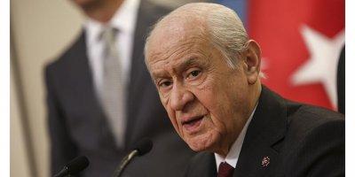 MHP Lideri Bahçeli 100 maddelik yeni anayasa önerisini açıkladı