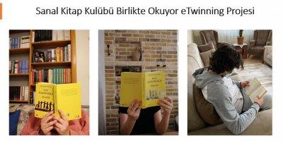 Sanal Kitap Kulübü Birlikte Okuyor projesi tamamlandı