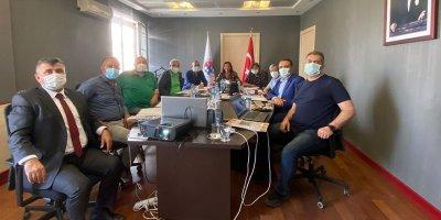 Satranç Federasyonu yönetim kurulu üyeleri bir araya geldi