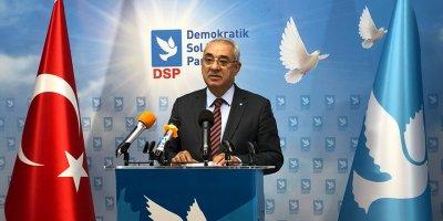 DSP Genel Başkanı Aksakal gündemi değerlendirdi