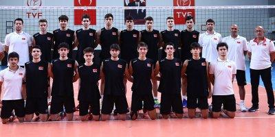 U18 Erkek Milli Takımı Ankara'da kampa girdi