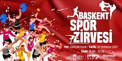 Başkent, Spor Zirvesi'ne ev sahipliği yapacak