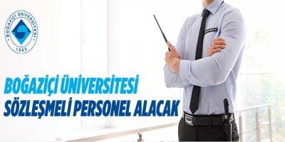 Boğaziçi Üniversitesi, sözleşmeli personel alacak