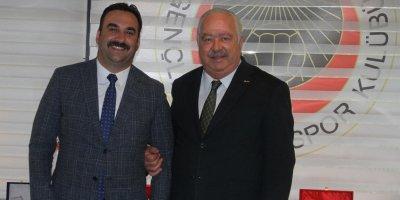 Mustafa Çelik'ten ziyaret