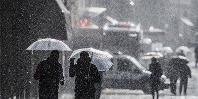 Birçok il için kuvvetli yağış uyarısı
