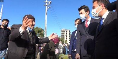 Vatandaşlardan Ali Babacan'a tepki