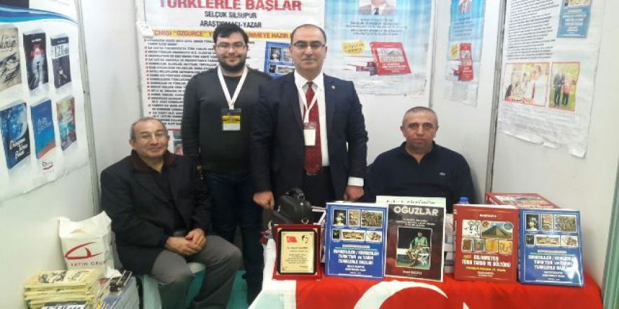 Ankara 12.Fuar Kitap Fuarı- Araştırmacı-Yazar Selçuk Silsüpür