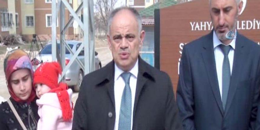 Kayseri'de Belediye Başkanı'na bıçaklı saldırı